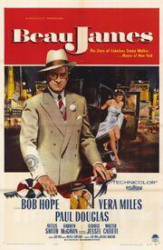 1957 - Beau James Movie Poster