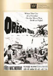 1959 - The Oregon Trail DVD Cover (2012 Fox Cinema Archives)