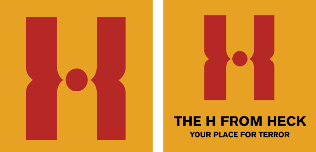 File:H from Heck logos.png
