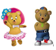 Tessie and Master tubby bear