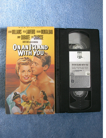 File:On An Island With You VHS.png