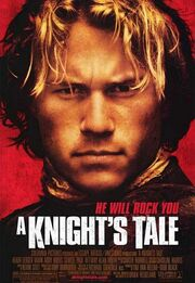 2001 - A Knight's Tale Movie Poster