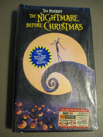 File:The Nightmare Before Christmas VHS.jpeg