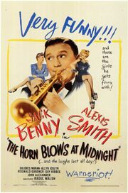 1945 - The Horn Blows at Midnight Movie Poster