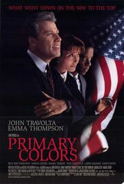 1998 - Primary Colors Movie Poster