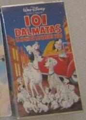 101 Dálmatas (La Noche De Las Narices Frias) VHS 1995 (Venezuela)
