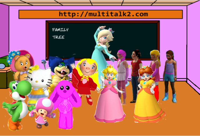 File:Hello yoshi & Princesses & Toadette in class.PNG