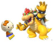 Mimmy and Bowser