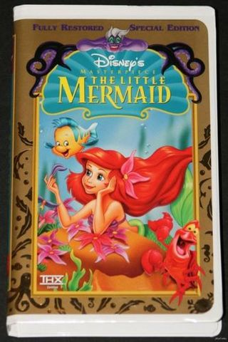Mermaid vhs movie