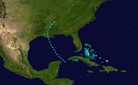 Hypothetical Tropical Depression 13