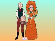 Wallace and Lady Tottington gemsona maker