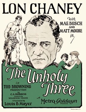 1925 - The Unholy Three