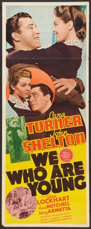 1940 - We Who Are Young Movie Poster