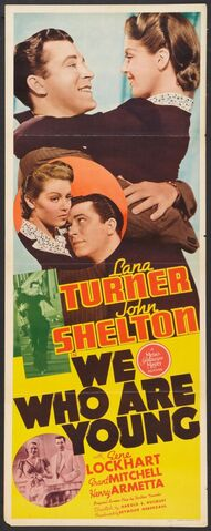 File:1940 - We Who Are Young Movie Poster.jpg