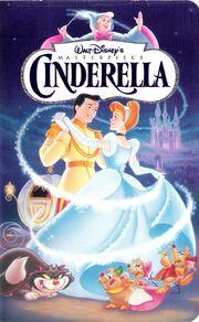 Cinderella MasterpieceCollection VHS