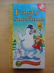 Frosty the Snowman 1998 VHS