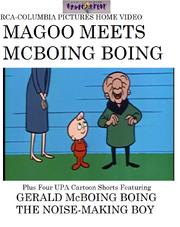 Magoo Meets McBoing Boing 1988 Magic Window VHS