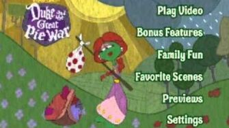 Opening To Veggietales Duke And The Great Pie War 2005 DVD