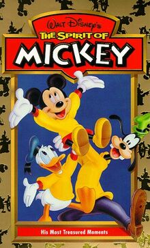 Spirit of Mickey VHS cover