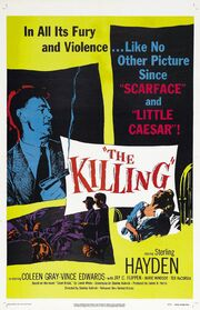 1956 - The Killing Movie Poster