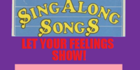 Disney Sing Along Songs: Let Your Feelings Show!