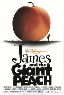 James And The Giant Peach (1996) Poster