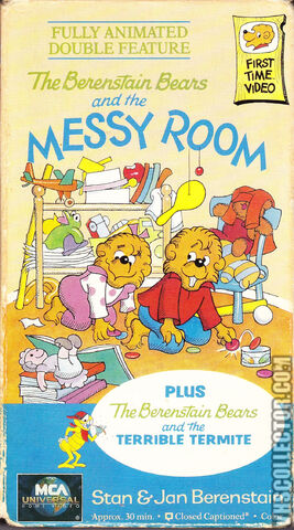 File:The Berenstain Bears - The Messy Room 1996 VHS Cover (MCA Universal Home Video Version).jpg