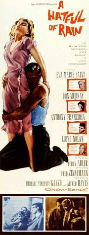 1957 - A Hatful of Rain Movie Poster