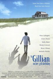 1996 - To Gillian on Her 37th Birthday Movie Poster