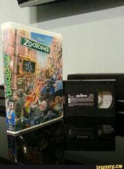 Zootopia VHS