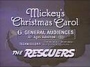 Mickeys Christmas Carol The Rescuers Re-Release Theatrical Teaser Trailer
