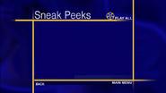 Sneak peeks menu remake back