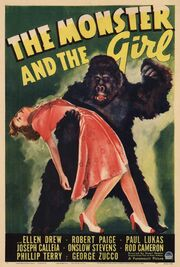 1941 - The Monster and the Girl Movie Poster