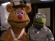Kermit and Fozzie from The Great Muppet Caper Preview