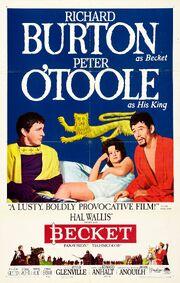 1964 - Becket Movie Poster