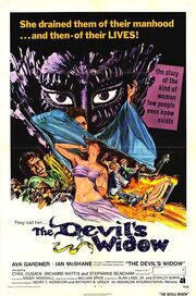 1972 - The Devil's Widow Movie Poster