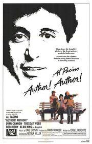 1982 - Author! Author! Movie Poster