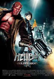 2008 - Hellboy II - The Golden Army Movie Poster