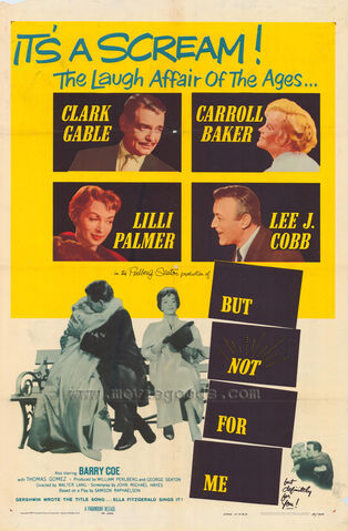File:1959 - But Not for Me Movie Poster.jpg