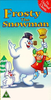 Frosty the snowman uk 20th century fox vhs