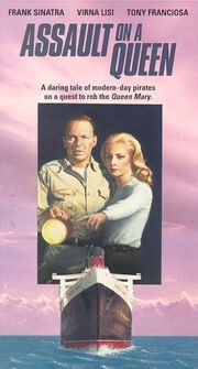 Assault on a Queen 1992 VHS (Front Cover)