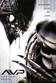 2004 - AVP - Alien Vs. Predator Movie Poster