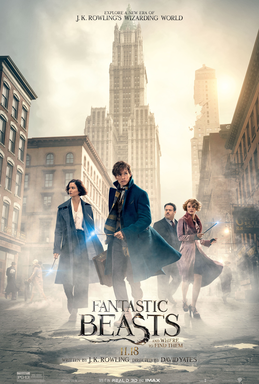 File:Fantastic Beasts and Where to Find Them poster.png