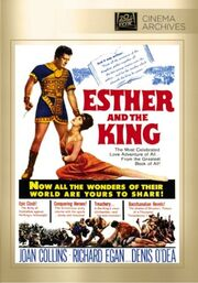 1960 - Esther and the King DVD Cover (2014 Fox Cinema Archives)