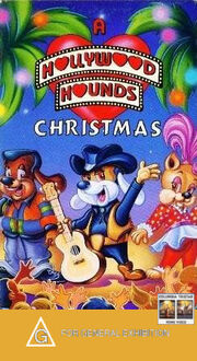 A hollywood hounds christmas columbia tristar home video australia vhs