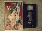 Mulan VHS