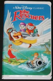 The rescuers 1992 vhs