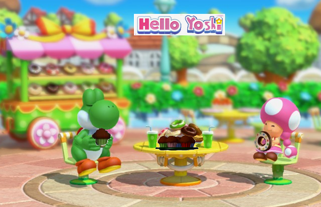 File:Yoshi and Toadette in ice cream parlor.png