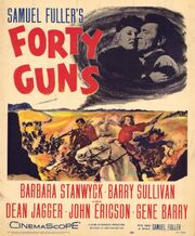 1957 - Forty Guns Movie Poster