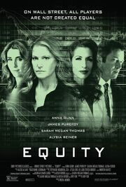 2016 - Equity Movie Poster
